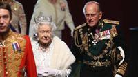 Ratu Elizabeth II dan Pangeran Phillip. (Dan Kitwood / POOL / AFP)