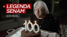 Berita video legenda senam Hungaria, Agnes Keleti, yang meraih 5 medali emas Olimpiade merayakan ulang tahunnya yang ke-100.
