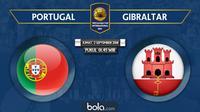 Persahabatan Internasional Portugal vs Gibraltar (Bola.com/Adreanus Titus)