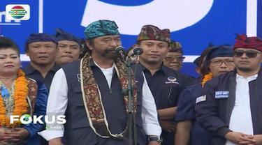 Gelar kampanye terbuka di Stadion Gunung Agung, Bali, Surya Paloh ajak kader pilih Jokowi-Ma'ruf Amin.