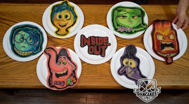 Pancake Cantik Gambar 75 Karakter Kartun Pixar