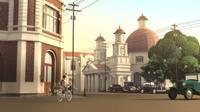 Film animasi Unstring Your Heart karya siswa SMK Umar Raden Said (SMK RUS) Kudus, Jawa Tengah. (Ist)