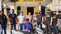 Warga Tomohon Utara, Sulut, diamankan Tim URC Totosik Polres Tomohon, pada Selasa sore (15/6/2021).