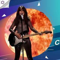 Berikut ini 5 lagu cinta kekinian yang menjadi favorit Camila Cabello, apa saja ya? (Foto: AFP / Theo Wargo / GETTY IMAGES NORTH AMERICA, Desain: Nurman Abdul Hakim/Bintang.com)