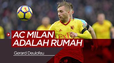 Berita video tentang Gerard Deulofeu yang menganggap AC Milan sebagai rumah untuknya.