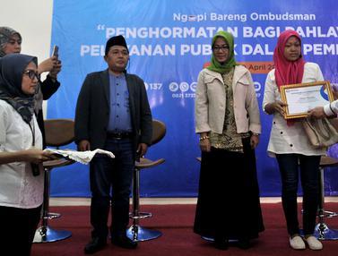 Ombudsman Beri Penghormatan bagi Pejuang Demokrasi