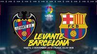 La Liga - Levante Vs Barcelona (Bola.com/Adreanus Titus)