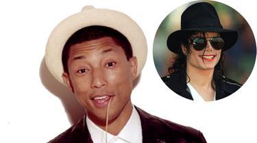 4cafd492820 Pharrell Williams Buang Kesempatan Duet dengan Michael Jackson ...