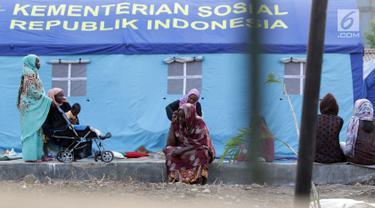Kondisi Para Pencari Suaka di Lokasi Penampungan