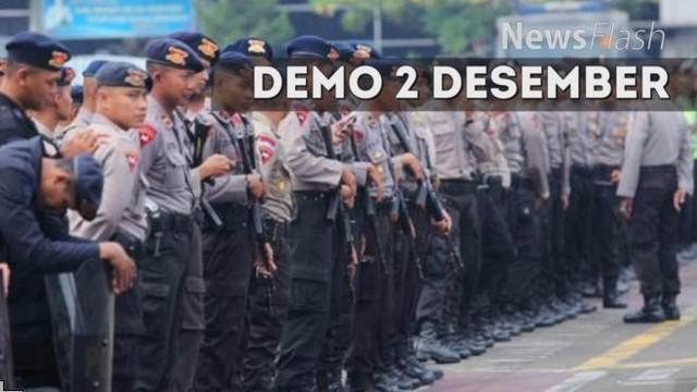 Polisi menyiapkan 22 ribu personel untuk mengamankan aksi 'Bela Islam Jilid III' yang akan berlangsung pada 2 Desember.