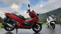 PCX Luxurious Trip kembali digelar, kali ini touring sepanjang 393 kilometer mengelilingi Bali. (AHM)