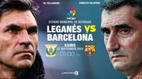 Prediksi Leganes Vs Barcelona (Liputan6.com/Trie yas)