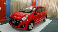 Tampang baru Daihatsu Ayla 1.0L generasi kedua