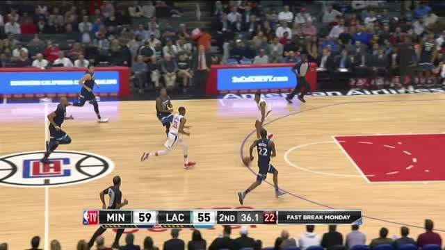 Berita video game recap NBA 2017-2018 antara Minnesota Timberwolves melawan LA Clippers dengan skor 126-118.