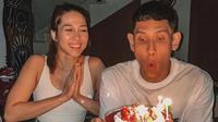 Andrea Dian rayakan ultah Ganindra Bimo (Instagram/andreadianbimo)