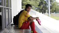 Andik Vermansah usai berlatih bersama Selangor FA. (Bola.com/Nicklas Hanoatubun)