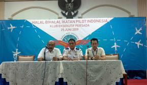 Halalbihalal Ikatan Pilot Indonesia pada Selasa, 25 Juni 2019 (Foto: www.sulawesita.com/Maulandy R)