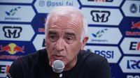 Pelatih Borneo FC Mario Gomez menginginkan timnya menang atas Persib Bandung. (Huyogo Simbolon)
