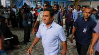 Mantan Presiden Maladewa Abdulla Yameen (AP/Erangga Jayawerdana)