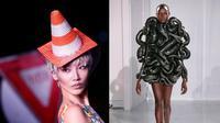 Gaya fashion nyeleneh (Sumber: Ground Zero)