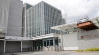 Eksterior kompleks bangunan baru Kedutaan Besar Amerika Serikat di Jakarta (Liputan6.com/Kedubes AS)