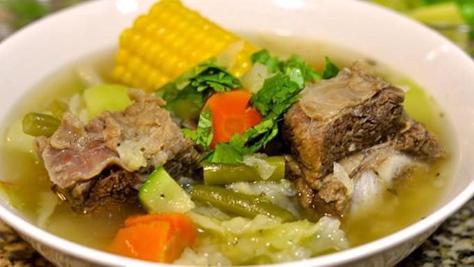 resep masak sop iga masak memasak Resepi Sup Ayam Jernih Enak dan Mudah