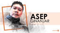 Kolom Bola Asep Ginanjar (Liputan6.com/Abdillah)