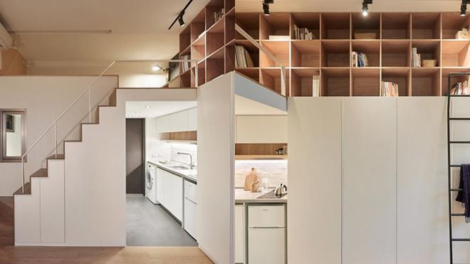 Apartemen Ini Luasnya Cuma 22 Meter, Kecil Tapi Berfungsi Maksimal
