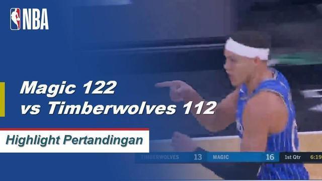 terrence Ross mencetak 32 poin dan Nikola Vucevic menambah dua kali lipat (21 poin, 10 rebound) ketika Magic tangan Timberwolves kekalahan ketiga beruntun mereka.