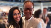 Kemesraan Loemongga dan Agus Gumiwang Kartasasmita (Dok.Instagram/@loemongga/https://www.instagram.com/p/BWij30WghGW/Komarudin)
