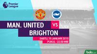 Premier League: Manchester United Vs Brighton and Hove Albion (Bola.com/Adreanus Titus)
