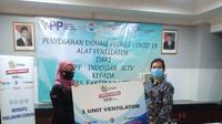 Emtek Peduli Corona, berika bantuan ventilator ke RS Kartika Kasih, Sukabumi, Rabu 4 November 2020