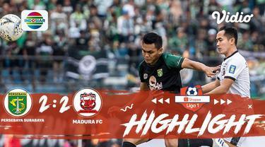 Laga lanjutan Shopee Liga 1,  Persebaya Surabaya VS Madura United FC berakhir imbang dengan skor 2-2 #shopeeliga1 #Persebaya Surab...