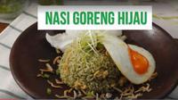 Resep membuat Nasi Goreng Hijau. (foto: dok.Masak.tv/Henry)