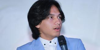Jefri Nichol mengaku bangga bisa terlibat bermain di Surat Cinta Untuk Starla The Movie. Ia pun mengaku senang memerankan sosok Hema di film tersebut. (Adrian Putra/Bintang.com)