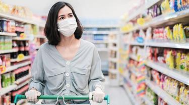Angka Pengidap Covid-19 Semakin Tinggi, Ini yang Perlu Diperhatikan saat Berbelanja