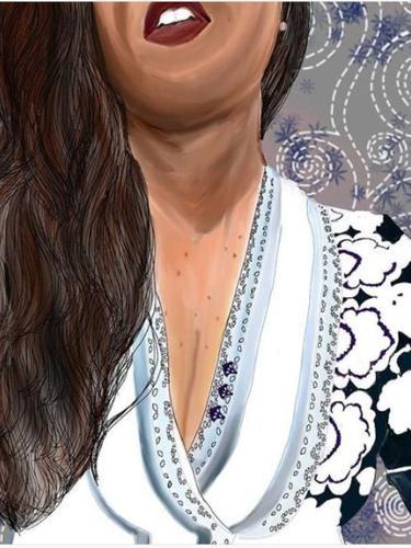 Lukisan Payudara