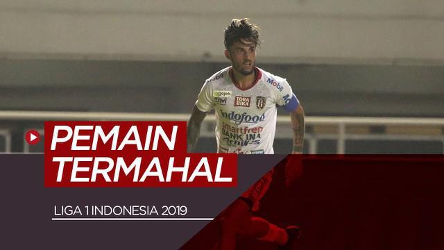 Berita video 10 pemain termahal di Liga 1 Indonesia 2019.