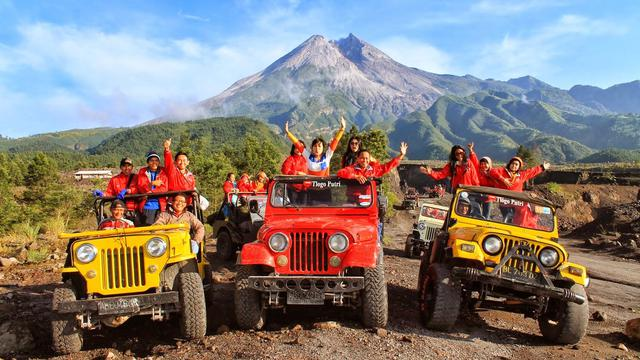 Image result for lava tour merapi