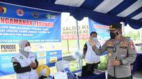 Kepala Korps Lalu Lintas (Kakorlantas) Polri Irjen Pol Istiono saat meninjau sejumlah lokasi di kawasan Mantingan, Kabupaten Ngawi, Jawa Timur. (Istimewa)