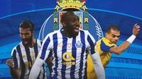 Porto - Sergio Oliveira, Moussa Marega, Pepe (Bola.com/Adreanus Titus)