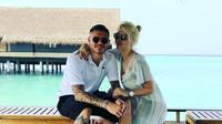Mauro Icardi dengan Wanda Nara sedang berlibur. (instagram.com/mauroicardi).