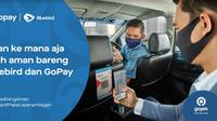 Bayar Taksi Bluebird Pakai QRIS Gopay (Foto: Gopay)