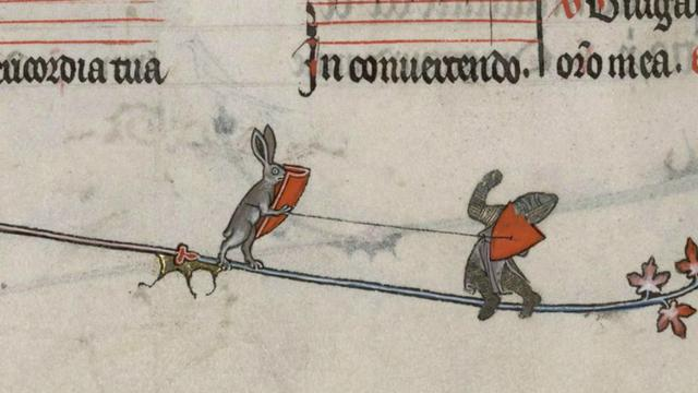 Teka Teki Ilustrasi Mengerikan Di Manuskrip Abad Pertengahan