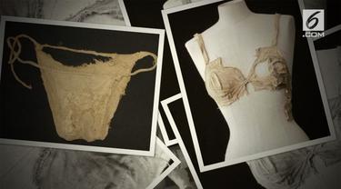 Universitas Innsburuck Austria temukan bra dan celana dalam dari abad pertengahan.