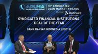 APLMA 10th Asia Pacific Syndicated Loan Market Awards 2020 yang diselenggarakan secara virtual pada 10 Maret 2021.
