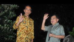 Jokowi berharap dengan selesainya putusan MK, maka pihaknya akan bisa lebih konsentrasi mempersiapkan pemerintahan berikutinya yang penuh tantangan, Jakarta, Kamis (21/8/2014) (Liputan6.com/Herman Zakharia)