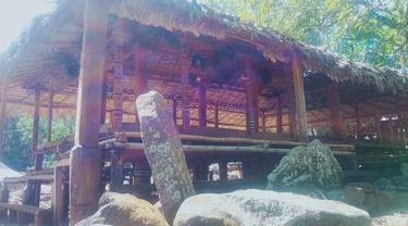 Rumah adat Lewokluok, Kecamatan Demong Pagong, Kabupaten Flores Timur, Nusa Tenggara Timur (NTT). (Foto Istimewah)