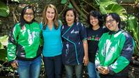 Melinda Gates Kunjungi Kantor Operasional Go-Jek di Bali (Foto: Gates Archive)