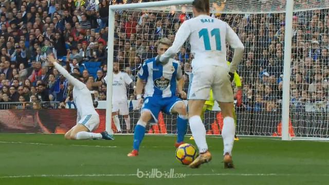 Berita video highlights La Liga antara Real Madrid Vs Deportivo La Coruna 7-1. This video is presented by Ballball.